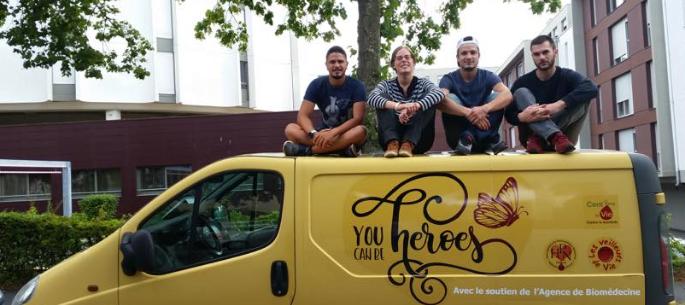 You Can Be Heroes: départ de l'Aventure en Juillet 2017