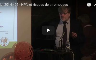 Mai 2014- 06 – HPN et risques de thromboses