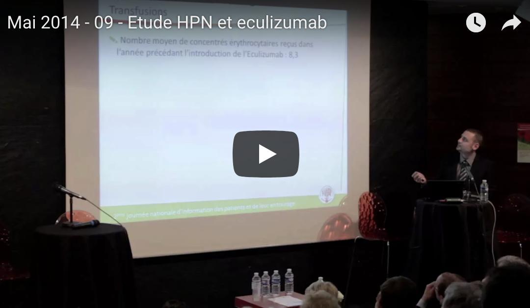 Mai 2014 – 09 – Etude HPN et eculizumab