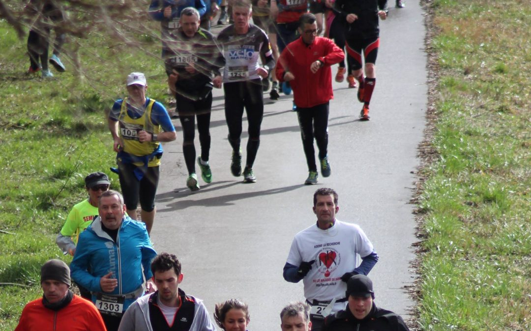 Semi-Marathon du Grand Nancy en Mars 2017