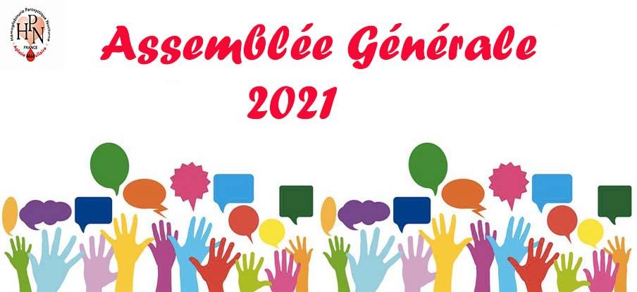 Assemblée Générale de l'Association HPN-AM prévue le 09 Octobre 2021